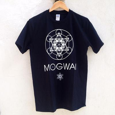 Mogwai x Focus Metatron's Cube Short Sleeve T-shirt - Black