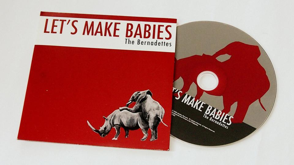 Let's Make Babies - The Bernadettes (CD Single)
