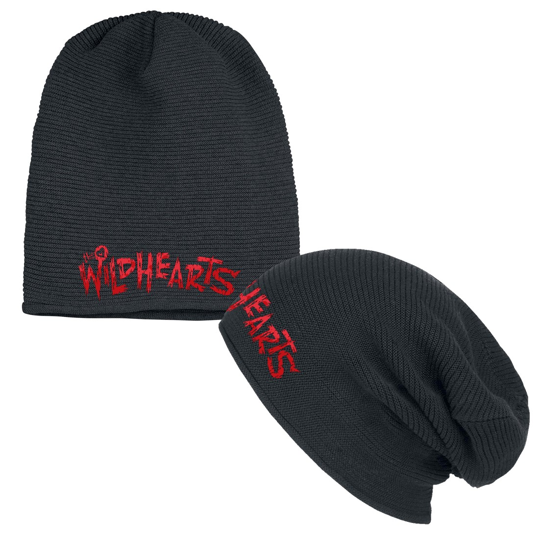 Red Logo – Slouch Beanie