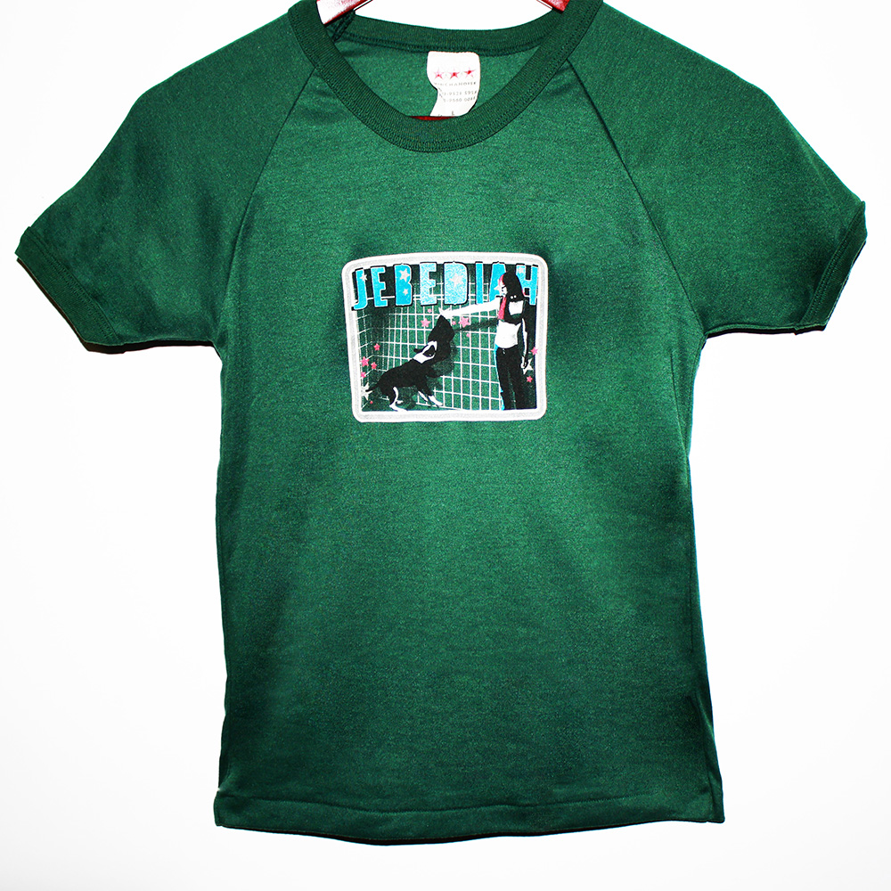 Garageland + Sugarchild  Tour - Green T-Shirt (Youth Sizes)