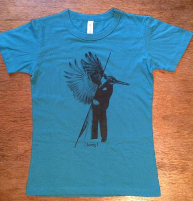 T-Shirt - Girls (Turquoise-Blue)