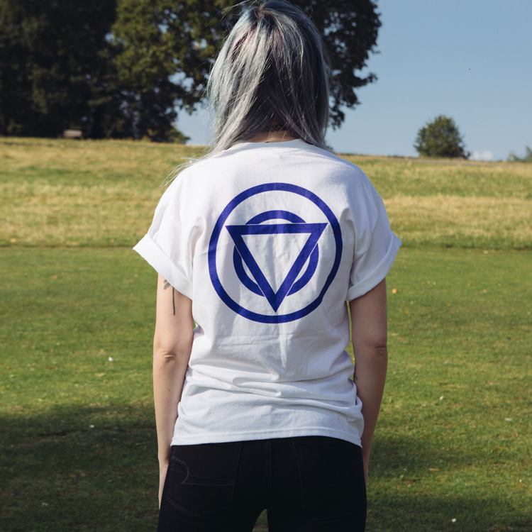 TEAM SHIKARI - WHITE T-SHIRT