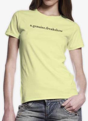 Scribble Logo Yellow Women's T-Shirt