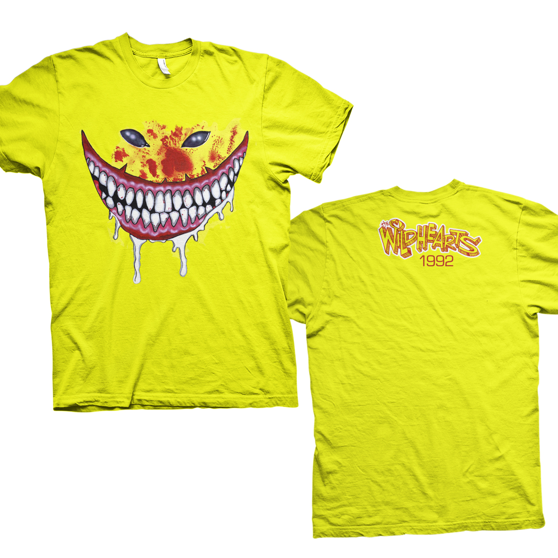 Jumbo OG Smiley Face – Daisy Yellow Tee