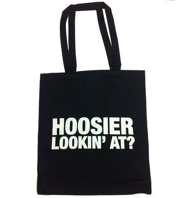 Hoosier Lookin' At Tote Bag