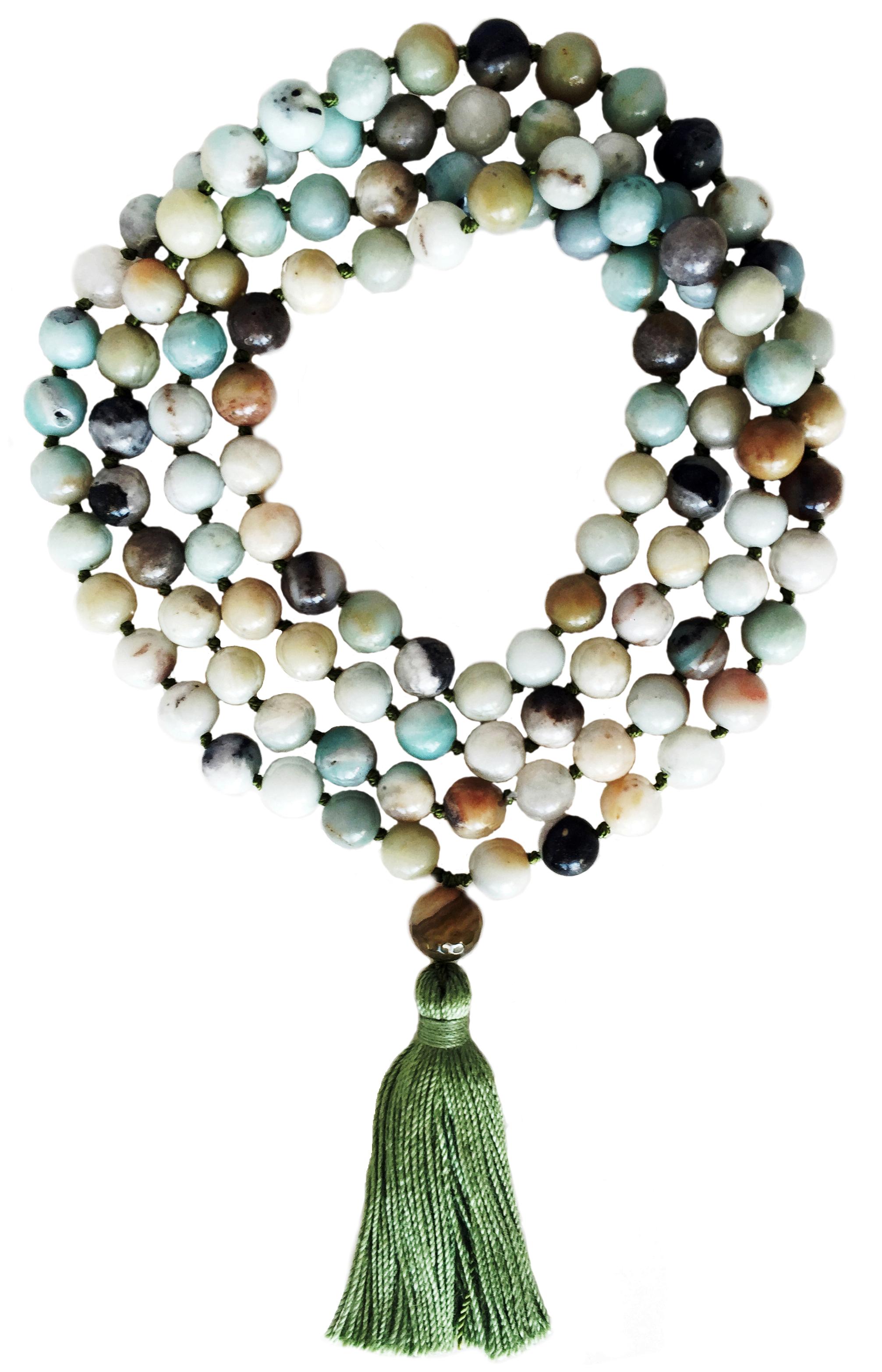Amazonite Mala - 108 beads