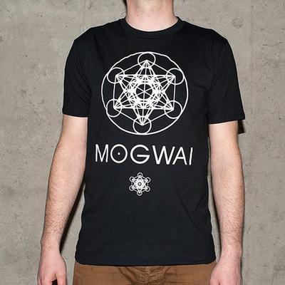 Mogwai x Focus Metatron's Cube Short Sleeve T-shirt - Black
