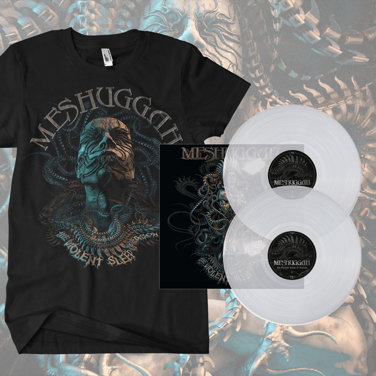 Clear Vinyl and 'Head' T-shirt Bundle