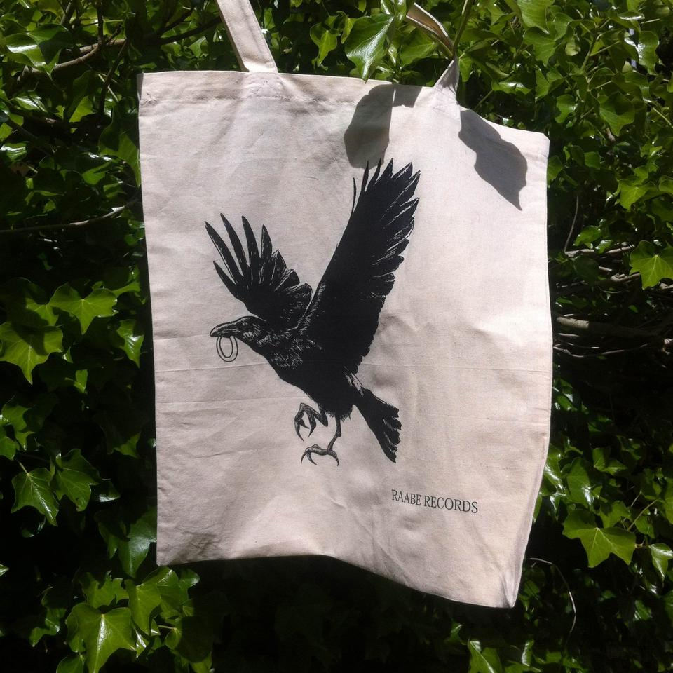 Raabe Records tote bag (SOLD OUT!)