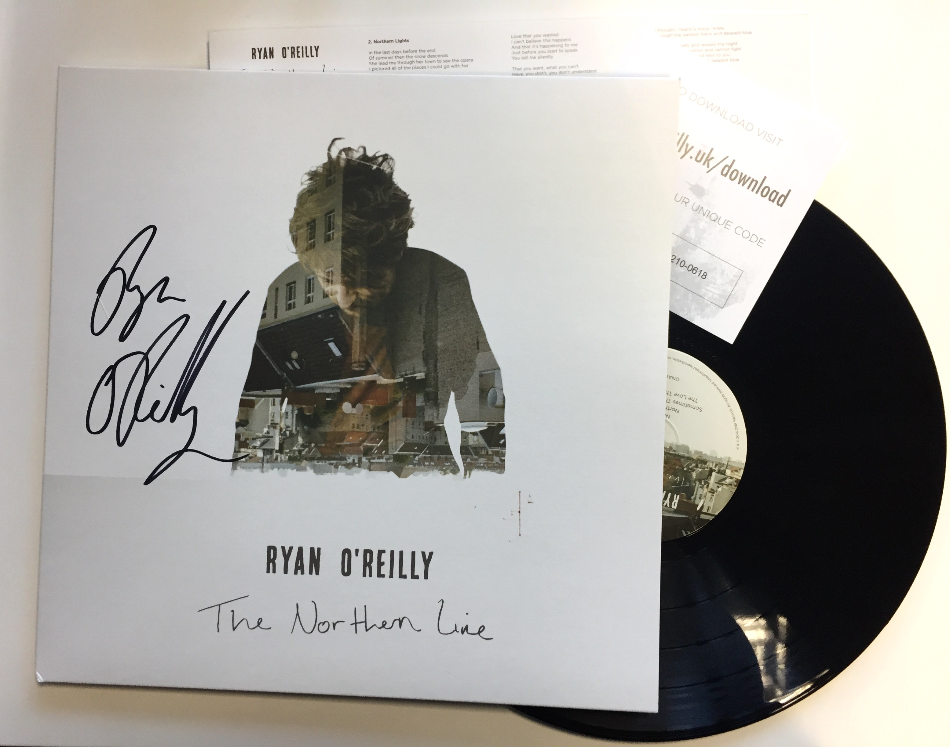 'The Northern Line' VINYL - SIGNED COPY