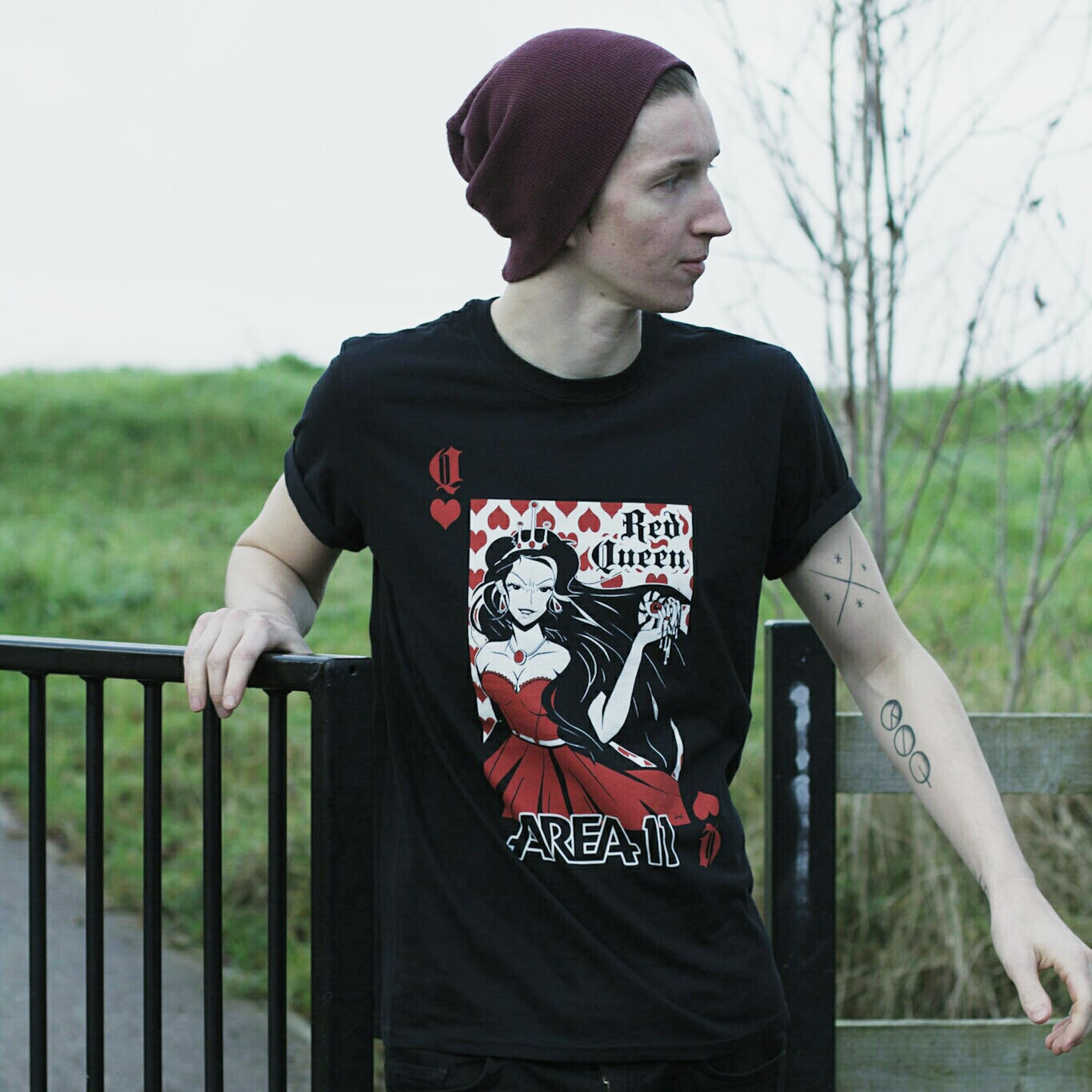 Red Queen T-Shirt - Black