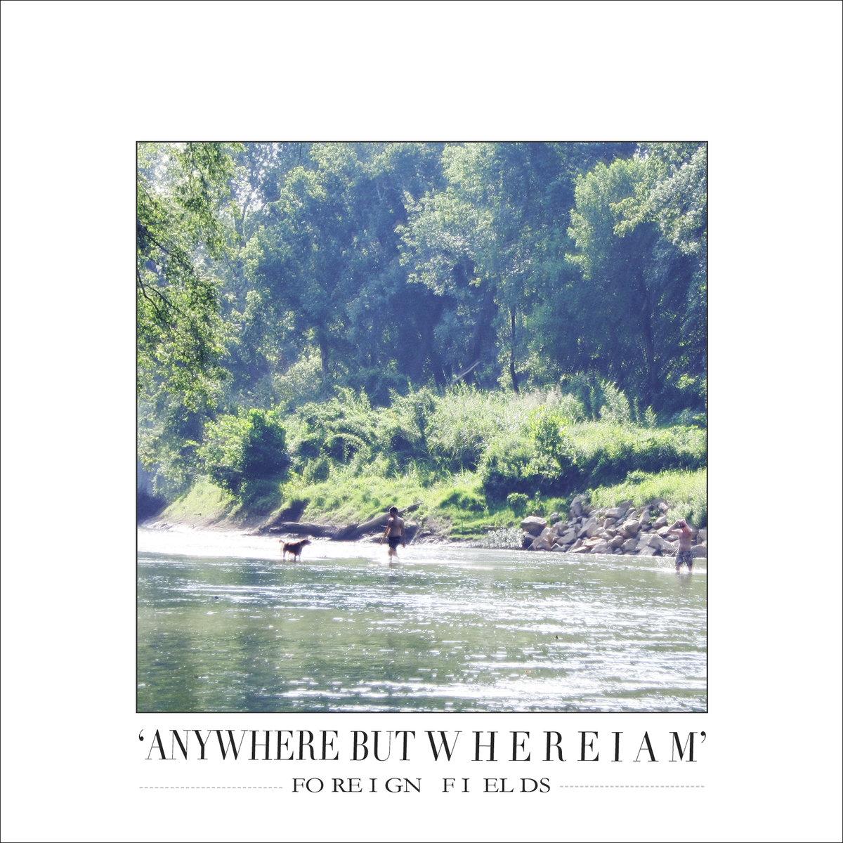 Anywhere But Where I Am [CD]