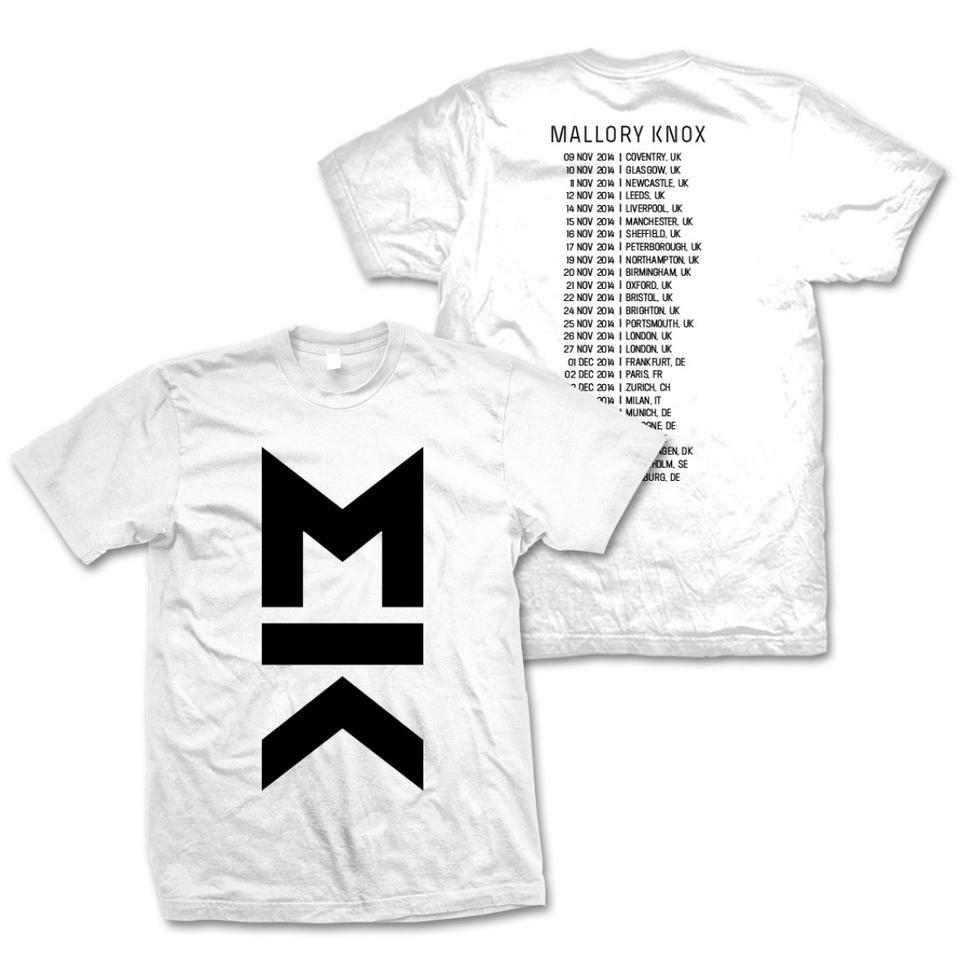 November 2014 Official Tour T-shirt - White