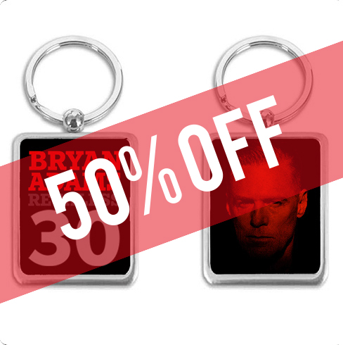Red Tone Keyring - Now 50% Off!