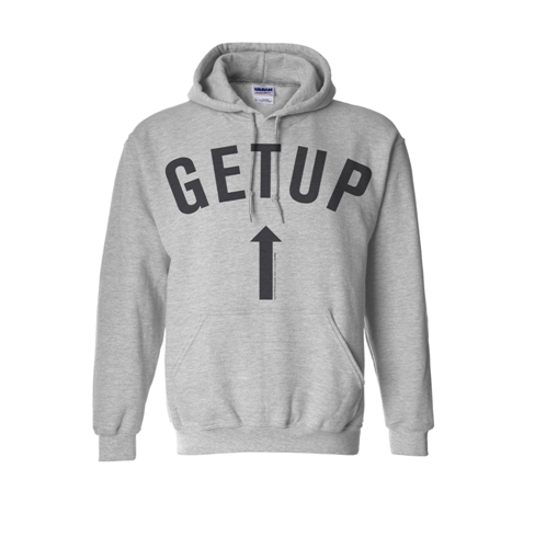 Get Up Album Dateback Hoodie