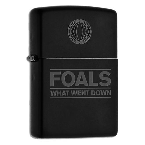 What Went Down (Black / Gold Zippo)