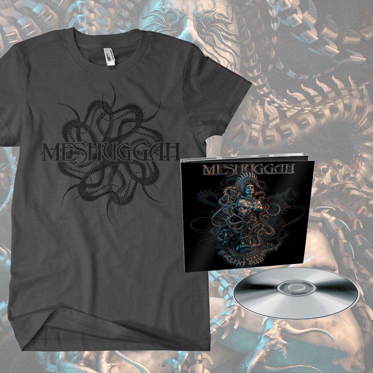 Digipack CD and 'Spine' T-shirt Bundle
