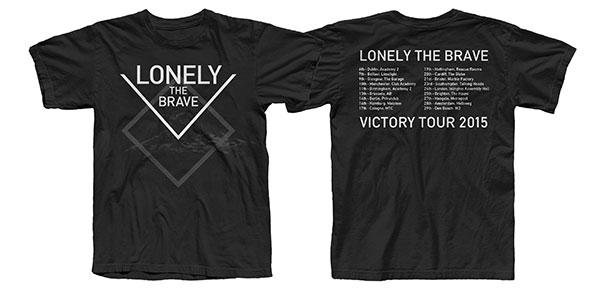November 2015 Tour T-Shirt LIMITED STOCK