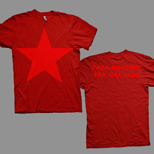 Red Star - Red Tee
