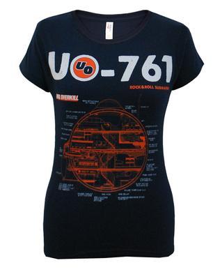 Ladies Navy Schematic T-Shirt